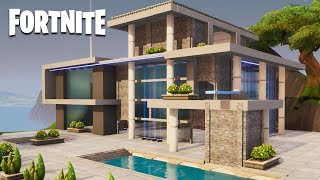 Fortnite Creative - Modern House (Speed Build)