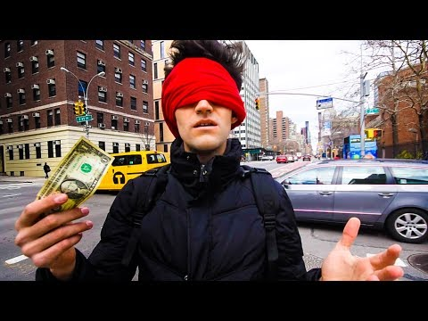 SURVIVING 24 HOURS in NYC with ONE DOLLAR!