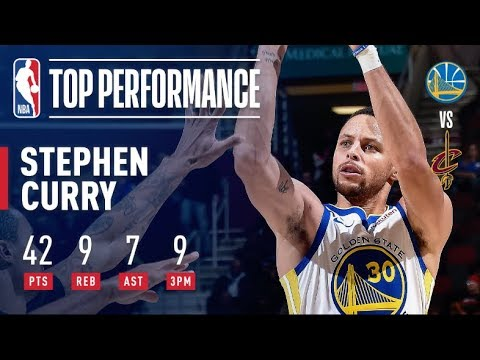 Video: Steph Curry Goes Off For 42 Points (9-14 3PT FG) in Warriors' Road Win | December 5, 2018