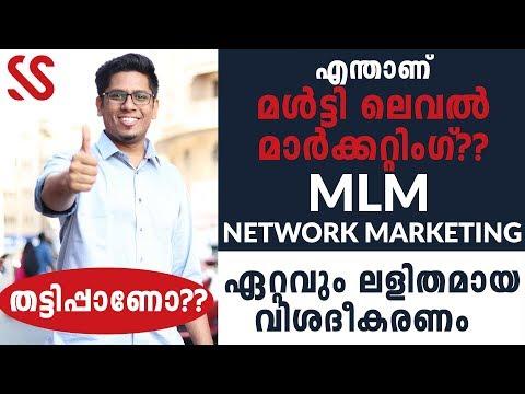 Most Easy Explanation of MLM - Multi Level Marketing or Network Marketing? Malayalam