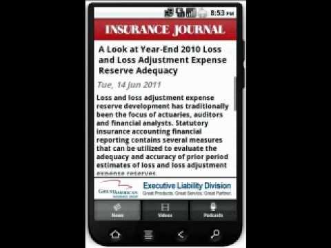 Video of Insurance Journal