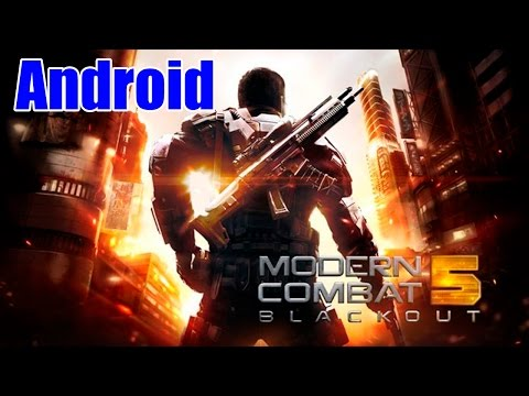 Modern Combat 5 : Blackout Android