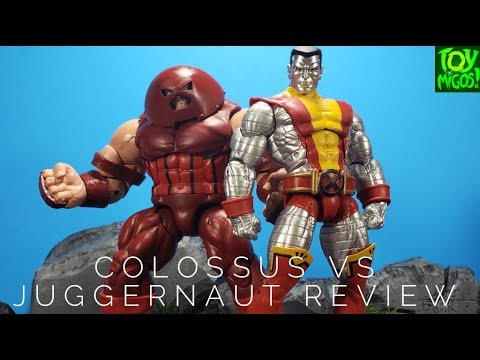 Colossus Vs Juggernaut 80 Years Marvel Legends Review!