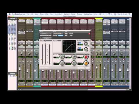 Mixing In Pro Tools Express – TheRecordingRevolution.com