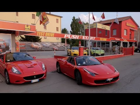 PUSHSTART Test Drive Maranello