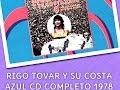 RIGO TOVAR  OH QUE GUSTO DE VOLVERTE A VER CD VOL 8 COMPLETO 1978