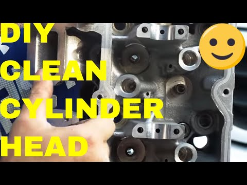 Prep/Clean Cylinder Head For Rebuild On A 4.7 Engine