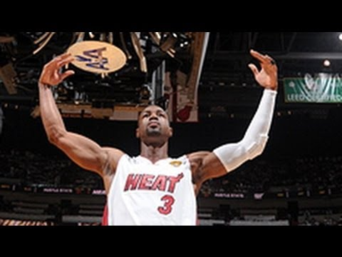 Wade - The fifth pick in the 2003 NBA Draft, Dwyane Wade heats up the court with speed and agility. Take a look at the Top 10 Plays of Dwyane Wade's Career!
