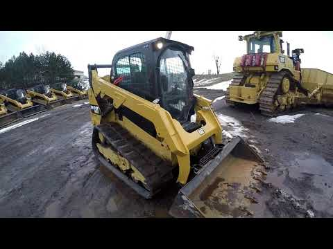 CATERPILLAR CHARGEURS TOUT TERRAIN 259D equipment video pjkgIum5OY0