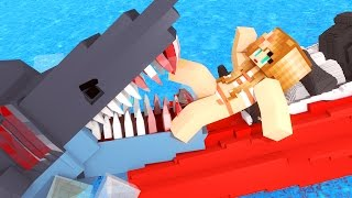 Jaws Movie - The First Shark Attack! (Minecraft Roleplay) #1