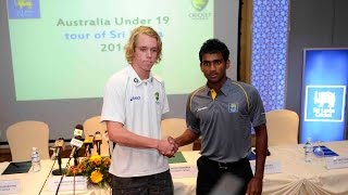 Australia Under 19 tour of Sri Lanka - Press Conference