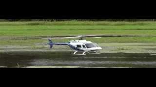RC Scale Heli Bell 206 Jet Ranger Electric With Turbine Sound Module