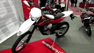 5. 2012 Husqvarna TE511 at 2012 Montreal Motorcycle Show - Salon de la Moto de Montreal