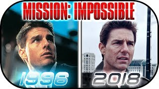 Video EVOLUTION of MISSION IMPOSSIBLE movies (1996-2018) Tom Cruise History, Then and now. Ethan Hunt MP3, 3GP, MP4, WEBM, AVI, FLV Agustus 2018
