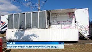 Carreta da Mamografia realiza exames gratuitos em Agudos até o final do mês