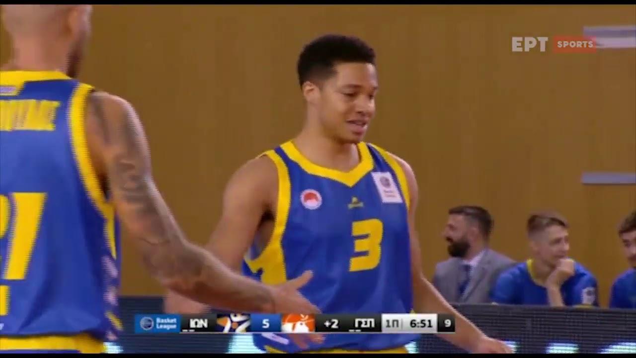 Basket League 2020-2021: Ιωνικός – Περιστέρι | 31/10/20 | ΕΡΤ
