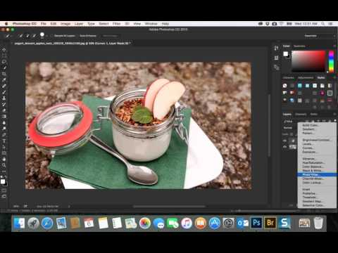 32- PhotoShop CC|  adjustment layers  photo filter and color corection