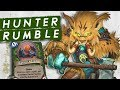 HUNTER RUMBLE RUN! For Halazzi! | Singleplayer | Hearthstone