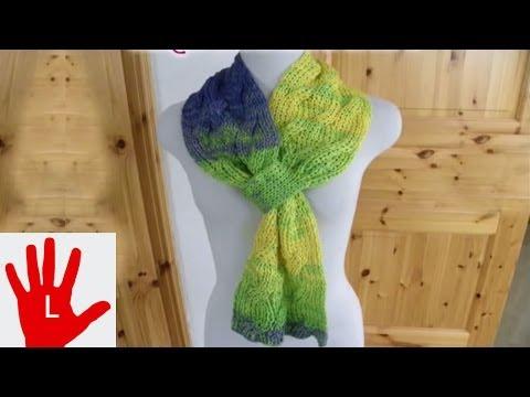 Stricken – Linkshänder – Loop oder Schal zum Durchziehen aus Arona von ONline-Garne