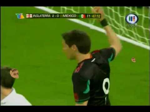 Gol de 'Gulle' Franco a Inglaterra