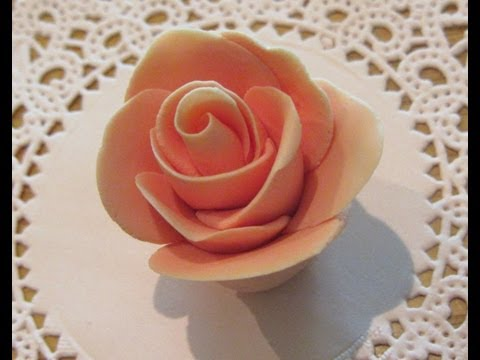How To Make Fondant Roses Without Any Tools
