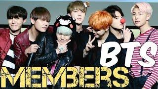 Video Members of BTS Profile (Bangtan Boys) 2016 (SACROSKPOP) MP3, 3GP, MP4, WEBM, AVI, FLV Maret 2018