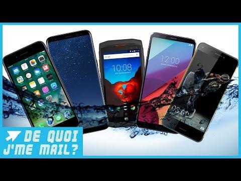 Quels sont les meilleurs smartphones étanches du moment ?  DQJMM (2/2)
