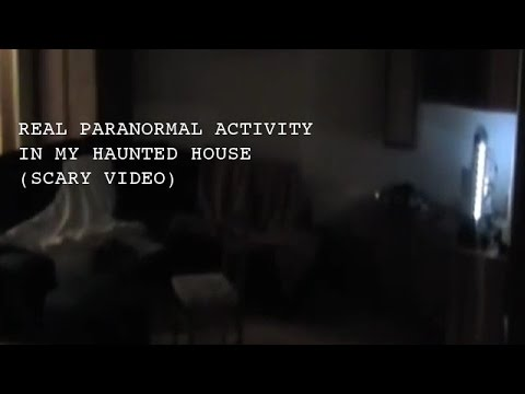 Paranormal activity caught on tape SCARY GHOST VIDEOS Scary paranormal video of ghost caught on tape