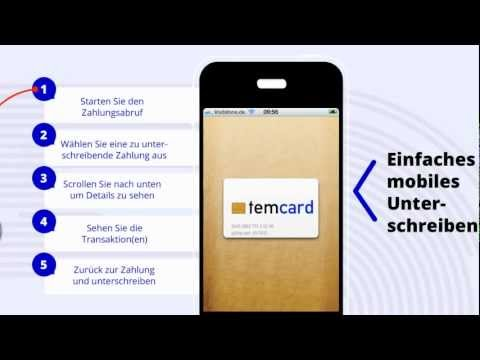 Video of temcard