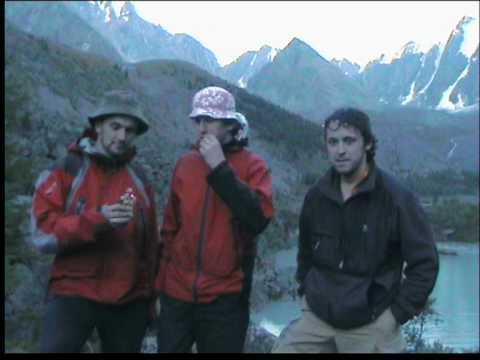 Верхнее Шавлинское озеро. Shavla lake (Altay Mountans). Cognac at the farthest point hike (видео)