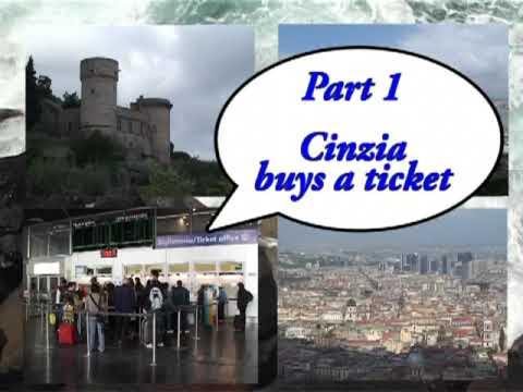 Cinzia geht Napoli (Episode 1) - Cinzia kauft ein Ticket