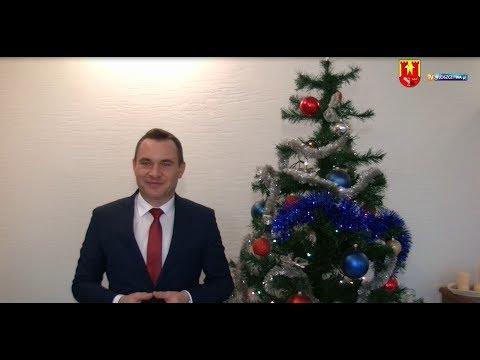 Życzenia Świąteczne od Burmistrza Gminy Włoszczowa Grzegorza Dziubka