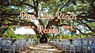 REVIEW - MUST SEE THIS PLACE Pine Lake Ranch Venue - Montgomery, Texas - Private Fishing Lake