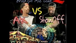 Brooklyn Mic Club | AK vs. Showoff