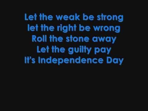 Martina McBride - Independence Day lyrics