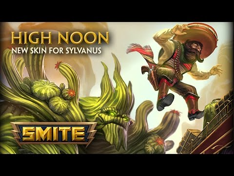 SMITE — New Skin for Sylvanus — High Noon