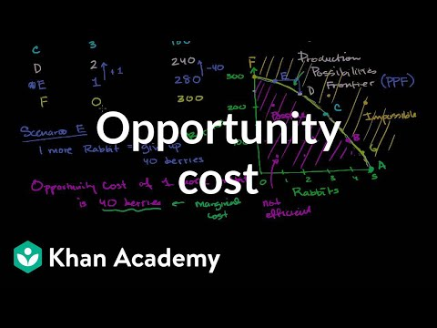 opportunity cost in business decision making