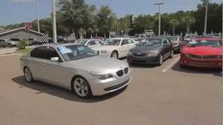 Autoline's 2009 BMW 5 Series 528i  Walk Around Review Test Drive