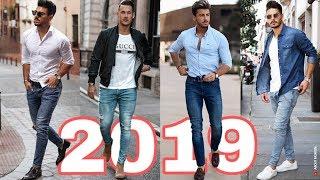 Video OUTFITS HOMBRES 2019   MODA CASUAL CON JEANS STREET STYLE   CÓMO VESTIR ROPA CON ESTILO MP3, 3GP, MP4, WEBM, AVI, FLV Maret 2019