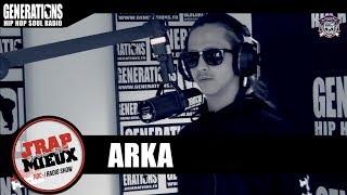 """Arka est passée par les studios de la radio Generations (Paris) pour un freestyle """"J'rap mieux qu'toi"""" avec Dj Roc J. Réalisé et..."""