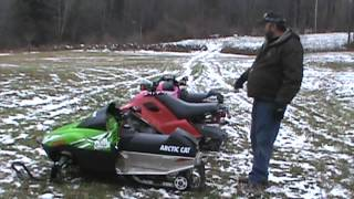 4. 2014 arctic cat speedwerx 206rr vs snow scoot vs arctic cat z120