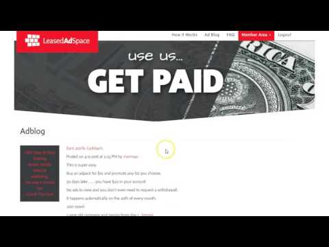 Leased Ad Space Review