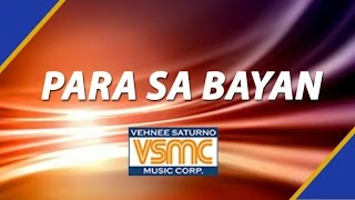 Subscribe to Vehnee Saturno Music Corp's Official YouTube Channel here: http://bit.ly/vehnees Enjoy Vehnee Saturno's original ...