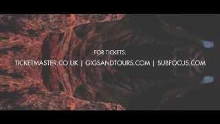 Sub Focus Live - UK Album Tour 2013
