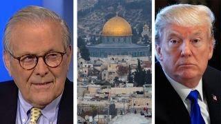 Video Donald Rumsfeld on the impact of Trump's Israel decision MP3, 3GP, MP4, WEBM, AVI, FLV April 2018