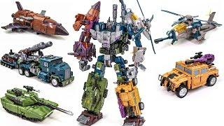 Video Transformers Bruticus Jinbao KO OverSized Warbotron Combiner Robot Car Toys MP3, 3GP, MP4, WEBM, AVI, FLV April 2017