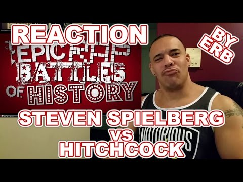 ERB Steven Spielberg vs Alfred Hitchcock Rap Battle Reaction