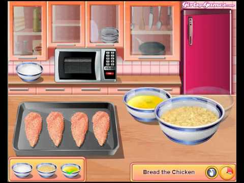 Sara's Cooking Class-Chicken Parmesan For Little Kids Gameplay Online
