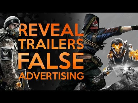 Game Release Trailer Lies Need To Stop - Anthem Faked Its Reveal