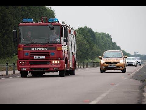 UK Autodrive fährt auf öffentlichen Straßen vor